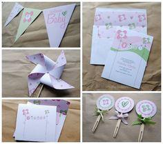 Free Printables: 24 Darling Baby Shower Invites + More! | Disney Baby