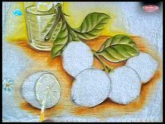 Como Pintar Limão - Na Pintura em Tecido                                                                                                                                                                                 Más