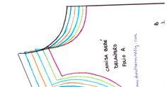 Ptron blusa bebe.pdf Short Infantil, Sewing Ideas, Couture, Dresses, Skirt, Girls Dresses Sewing, Sewing Stitches, Sewing Patterns, Girls Dresses