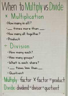 The Buzzy Teacher: And Math Anchor Charts, too! Math Teacher, Math Classroom, Teaching Math, Kindergarten Writing, Maths, Teacher Stuff, Classroom Ideas, Math Charts, Writing Anchor Charts
