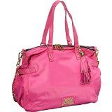 Juicy Couture Easy Everyday Nylon Lauryn Tote Bag Yhru3347 Bright Pink - #purses #pursescheap #pursesinsale #handbags #handbagscheap #handbagsinsale #handbagsinclearance -   ylon; trim: leather, Interior features zip pocket, 2 slip pockets and wristl