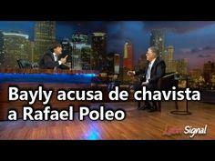 Bayly acusa de chavista a Rafael Poleo y lo expulsa del programa