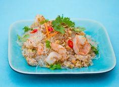Glasnudelsalat mit Garnelen, Huhn und Minze | Asia Street Food – Asiatische Rezepte aus den Straßenküchen Vietnams, Thailands, Kambodschas, Myanmars und Burmas