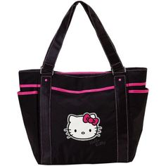 If we end up with a girl, her theme is hello kitty, this bag would work
