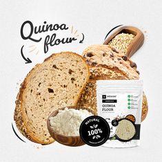Quinoa, Bread, Health, Food, Health Care, Breads, Salud, Bakeries, Meals