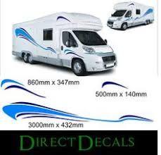 motorhome vinyl graphic sticker decal set camper by directdecals