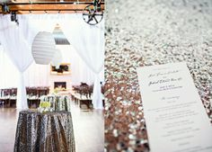 Venue- The Cotton Room; Stationery- Salutations; Event design- Fresh Affairs; Photos- Michael Moss Photography