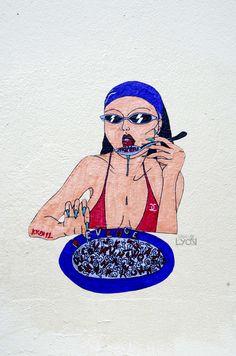 #kken92 montée des carmélites Lyon 1er Street Art, Lyon, Artist, Amen, Artists