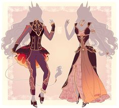 :Comm: Outfits for Yve by MMtheMayo.deviantart.com on @DeviantArt