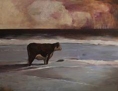 Pozrite si 20 finálových diel súťaže Maľba 2019 – Denník N Roman, Cow, Drawings, Painting, Animals, Animales, Animaux, Painting Art, Cattle