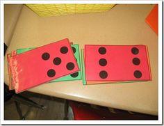 Math Games--Dot Cards