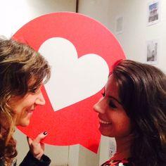 Valentina Rinaldi and Giuditta_Catania in mostra