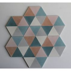 We have some of these tiles in stock and some has to be ordered. Zulu, Wall Tiles, Cement Tiles, Marrakech, Colored Pencils, Color Schemes, Pattern Design, House Design, Flooring