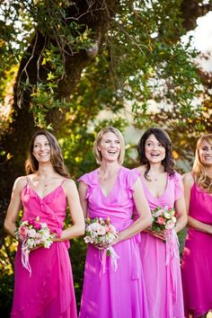 shades of pink!