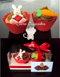 Cupcakes de Páscoa. - Quero Cupcakes
