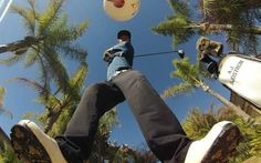 Preparado... listo.. ya!! #gopro #golf #green #palodegolf #hoyo #alquilargopro