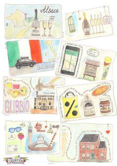sandysign.nl Compilatie art-journal Italië - sandysign.nl