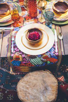 Mariage marocain déco colorée