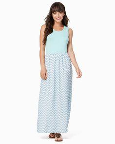 charming charlie   Chic Chevron Maxi Dress   UPC: 100317638 #charmingcharlie