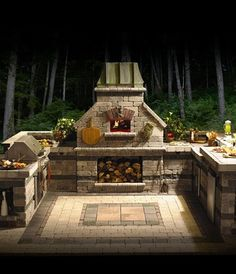 Great Outdoor Cooking Area