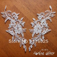 2013 Embroidery Corded Wedding Bridal Lace Applique-inLace from Home & Garden on Aliexpress.com | Alibaba Group