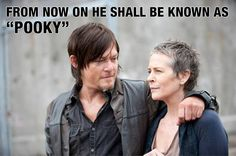 "Daryl shall now be called ""Pooky"""