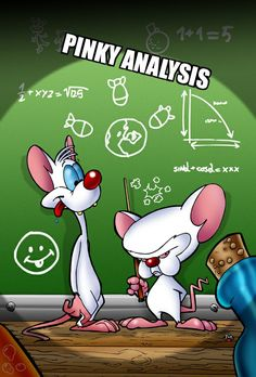 Pinky and the Brain. Two of the all time great cartoon characters. Classic Cartoon Characters, Cartoon Tv, Classic Cartoons, Cartoon Shows, Cartoon Drawings, Saturday Morning Cartoons, Funny Cartoons, Looney Tunes, Childhood Memories
