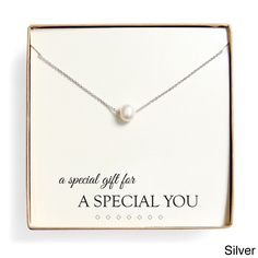 Cathy 'Special Gift' Floating Freshwater Pearl Necklace Gift Set