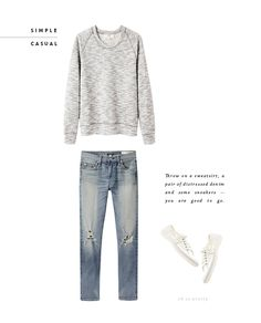 Style // Simple and Casual - perfect for running errands // Oh So Pretty