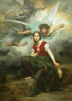 St Joan of Arc   www.saintnook.com/saints/joanofarc   File:Jeanne d' Arc (Eugene Thirion).jpg