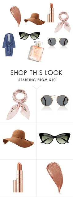 """mnmm"" by sofiamar18 on Polyvore featuring Manipuri, Prada, Estée Lauder and Kevyn Aucoin"