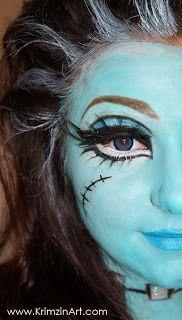 VIDEO TUTORIAL: Bratz Doll Frankie Halloween Makeup! #Christmas #thanksgiving #Holiday #quote