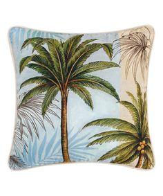 Palm Tree Throw Pillow #zulily #zulilyfinds