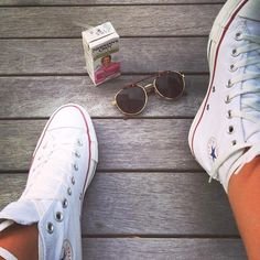 White converse high tops. Hmm. Debating between high tops and the classic....