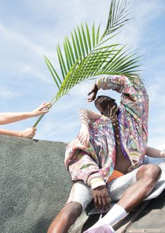 'JAMAICAN ME CRAZY' LOOKBOOK - Brogan Toyn