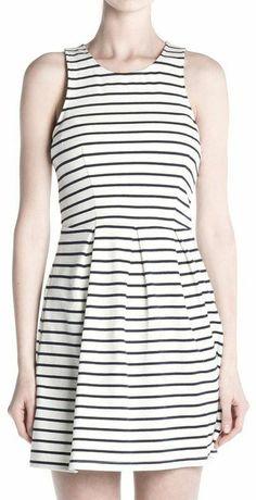 Sleeveless Striped Dress