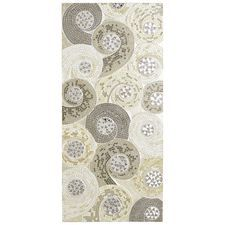Mosaic Swirls Wall Panel - Silver: Pier One Mosaic Wall Art, Glass Wall Art, Glass Mosaic Tiles, Wall Art Decor, Wood Glass, Wall Decorations, Small Bathroom Remodel Cost, Mirror Panel Wall, Unique Wall Art
