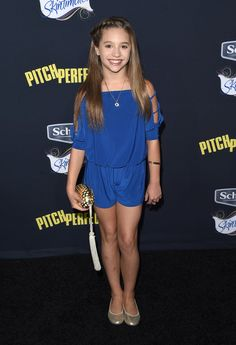 "Mackenzie Ziegler Photos Photos - Dancer/actress Mackenzie Ziegler  arrives at the World Premiere of ""Pitch Perfect 2"" held at the Nokia Theatre L.A. Live on Friday, May 8, 2015, in Los Angeles. - Premiere Of Universal Pictures' 'Pitch Perfect 2' - Arrivals"