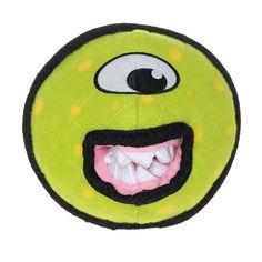 Tuffy Durable Dog Toy Alien Ball Green - T-A-BALL-GRN