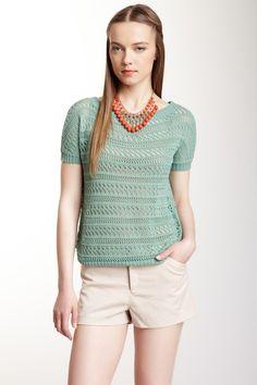 Scoop Neck Knit Sweater by Tulle on @HauteLook