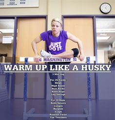 Warm Up Like a Husky - Tips From the Weight Room