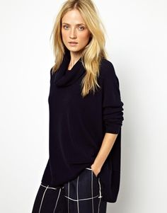 Image 1 of Whistles Ettie Jumper in Cashmere