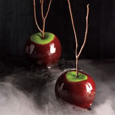 Halloween Party for Adults: Spooky Recipes | Cinnamon-Cider Candied Apples | CookingLight.com