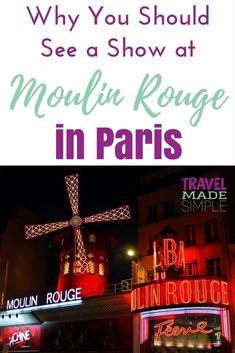 Strip shows paris france wet