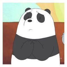 Pam Pam, We Bare Bears Wallpapers, Anime Muslim, Cartoon Photo, We Bear, Panda Love, Bear Wallpaper, Cartoon Icons, Cute Memes