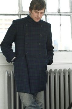 Make a winter coat for him with this sewing pattern available on BurdaStyle