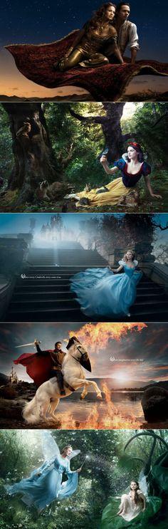 grafiker.de - Annie Leibovitz: Promi-Disney-Fotografie