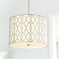Jolie Drum Pendant - for the Master Bathroom, over the tub