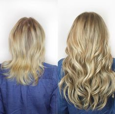 The Least damaging Extensions on the Market Hair A, Grow Hair, Blonde Hair, Hair Extension Brush, Types Of Hair Extensions, Fine Hair, Beauty Hacks, Beauty Tips, Braids
