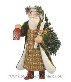 2009 - Hallmark  Ornament - Father Christmas - Hallmark Keepsake Christmas Ornaments